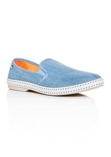 Rivieras Men's Denim Slip-On Sneakers