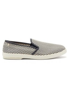 Rivieras Mods woven-canvas loafers