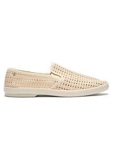 Rivieras Nice Matin woven loafers