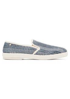 Rivieras Woven denim loafers