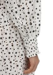 RIXO Bethany Printed Eyelet Lace Dress