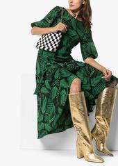 RIXO Cheryl printed midi-dress
