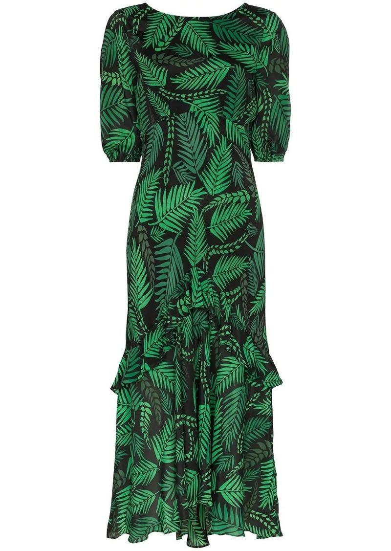 Cheryl printed midi-dress