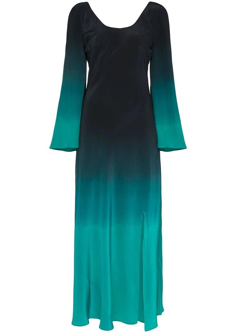 RIXO Ivy dip-dye maxi dress