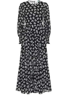 RIXO Pip floral cotton maxi dress