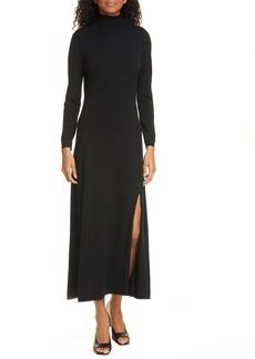 RIXO Antonia Long Sleeve Midi Sweater Dress