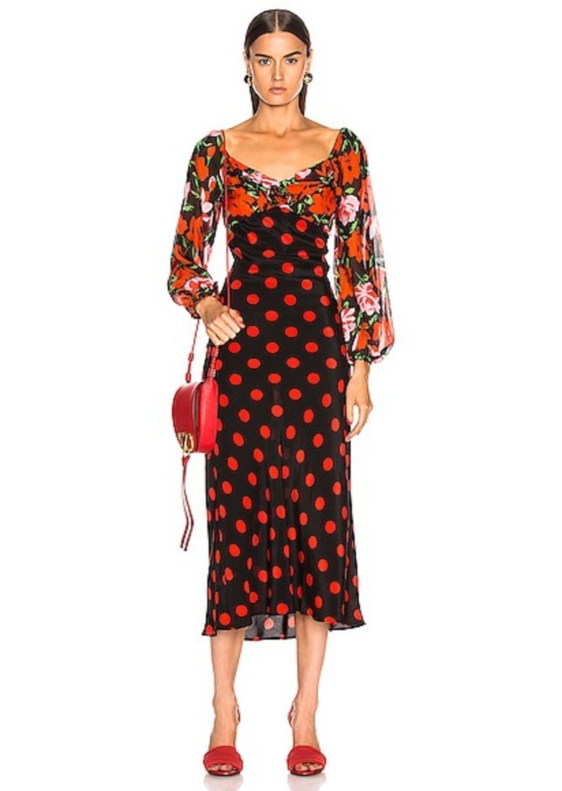 RIXO Josephine Dress