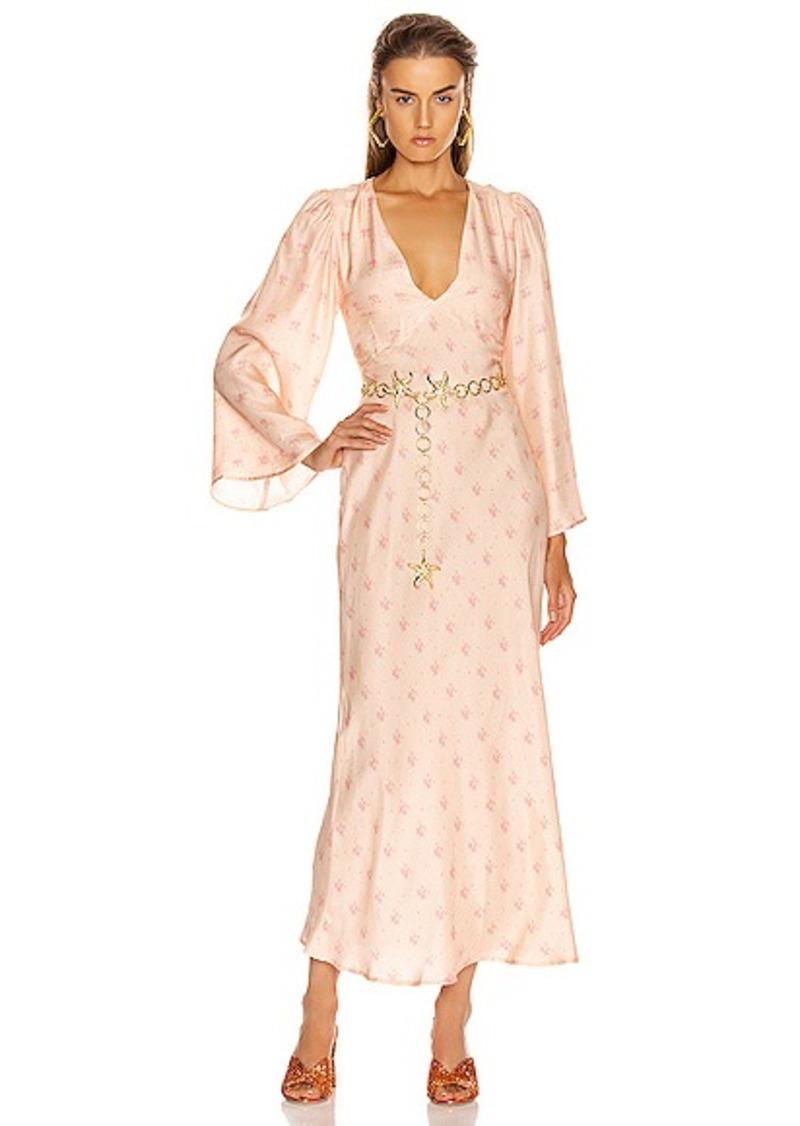 RIXO Nadia Midi Dress