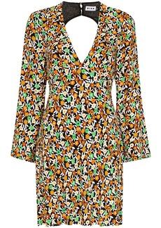 RIXO Sophie floral print mini dress