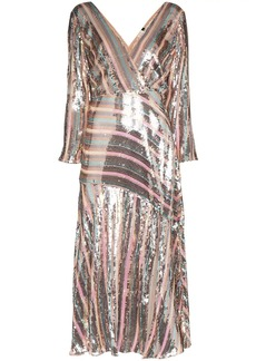 RIXO Tyra sequinned dress