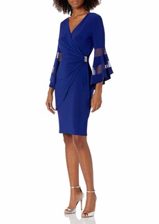 R&M Richards Women's The Easiest and Most Elegant Dress to wear Electric B