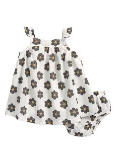 Robeez® Floral Print Sleeveless Dress (Baby Girls)