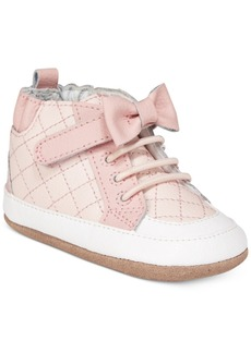 Robeez Primrose High-Top Sneakers, Baby Girls & Toddler Girls