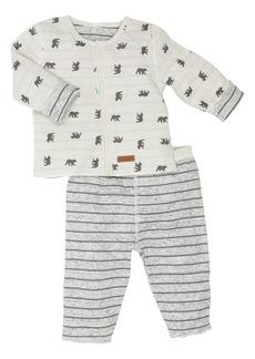Robeez® Reversible Cub Shirt & Pants Set (Baby)