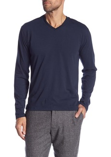 Robert Barakett Magog Long Sleeve V-Neck Tee