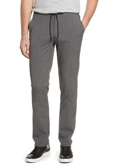 Robert Barakett Caperwood Drawstring Check Wool Blend Trousers