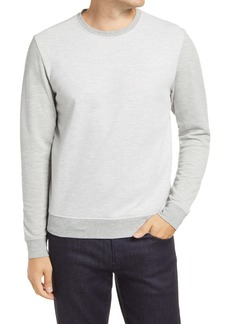 Robert Barakett Downtown Pinstripe Long Sleeve T-Shirt