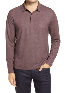 Robert Barakett Foley Dobby Long Sleeve Polo