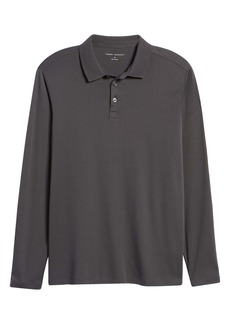 Robert Barakett Georgia Long Sleeve Polo