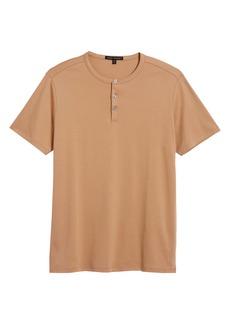 Robert Barakett Georgia Solid Henley Shirt