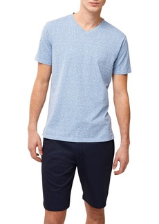 Robert Barakett Porter V-Neck T-Shirt