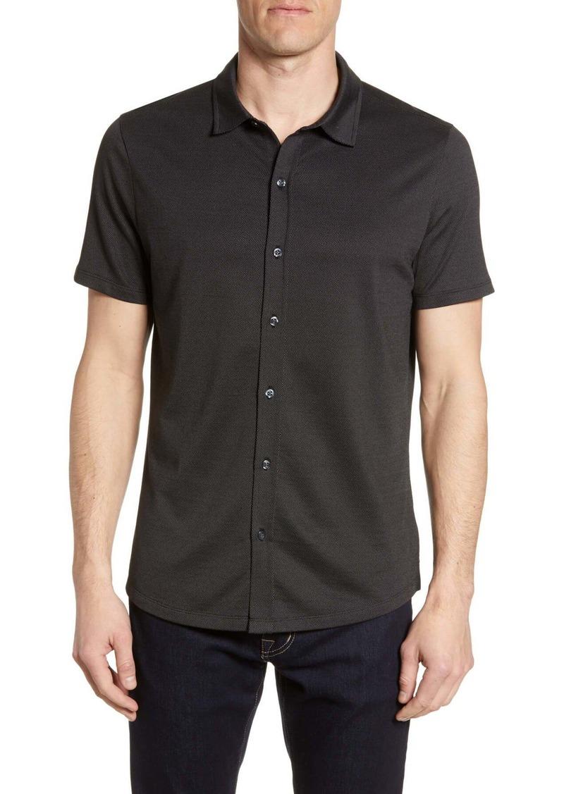 Robert Barakett Thames Regular Fit Knit Shirt