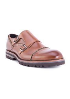 Robert Graham Acadia Double Buckle Monk Shoe (Men)
