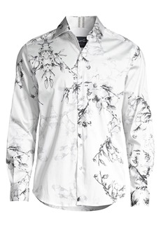 Robert Graham Aiden Tailored-Fit Floral Shirt