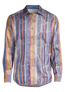 Robert Graham Armadillo Lair Silk Shirt
