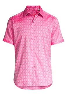 Robert Graham Atlas Stretch Egyptian Cotton Shirt