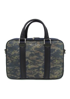 Robert Graham Banner Camo Print Lightweight Briefcase