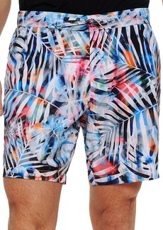 Robert Graham Beach to Bar Tie-Dyed Palm Shorts