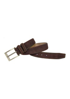 Robert Graham Belden Suede Leather Belt
