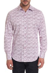 Robert Graham Blurred Vision Printed Button-Down Shirt