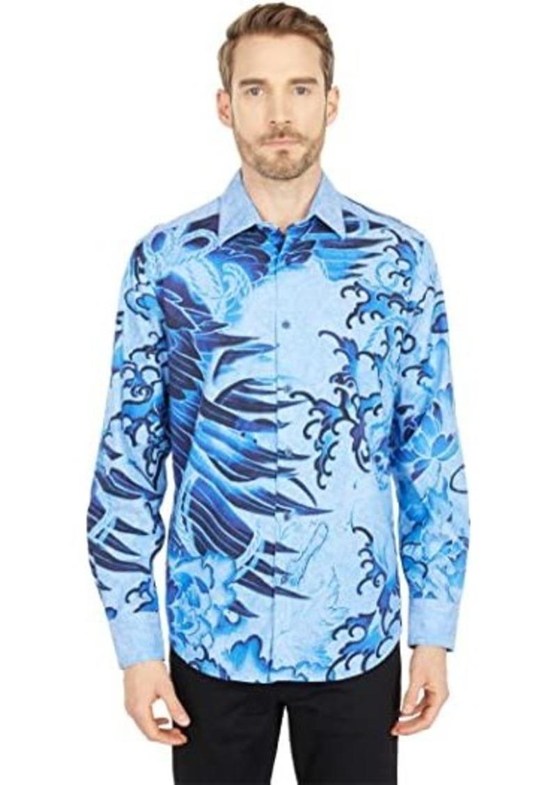 Robert Graham Bondock Long Sleeve Woven Shirt