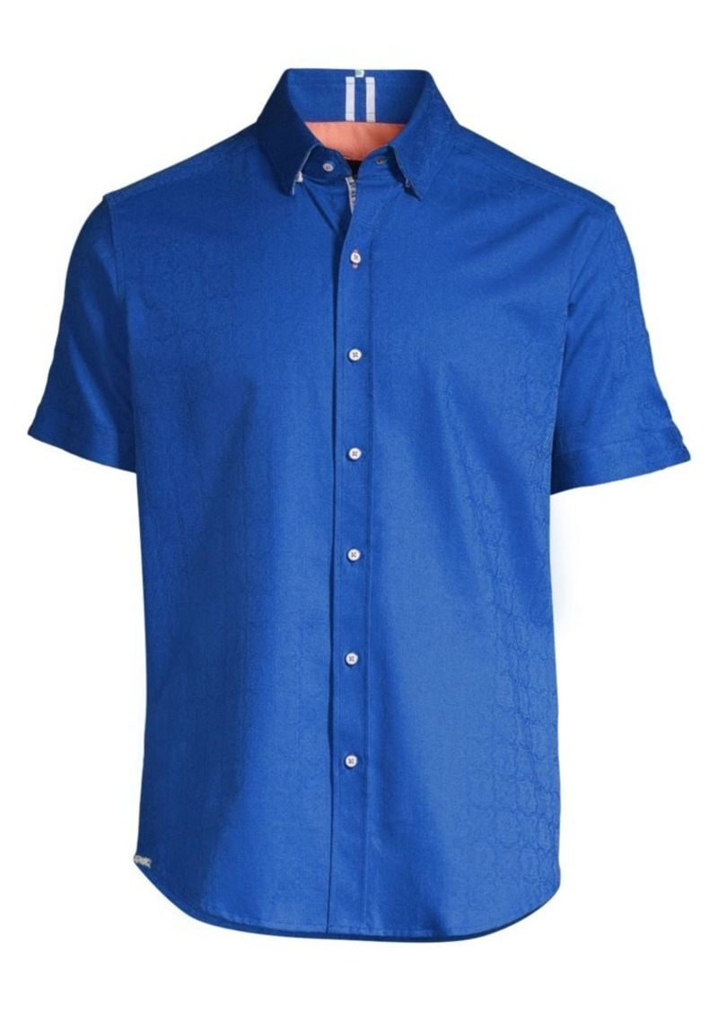 Robert Graham Bozeman Stretch Cotton Shirt