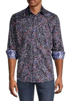 Robert Graham Brampton Classic-Fit Floral-Print Shirt