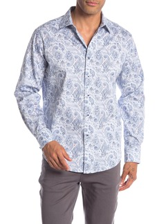 Robert Graham Brewbaker Paisley Print Classic Fit Shirt