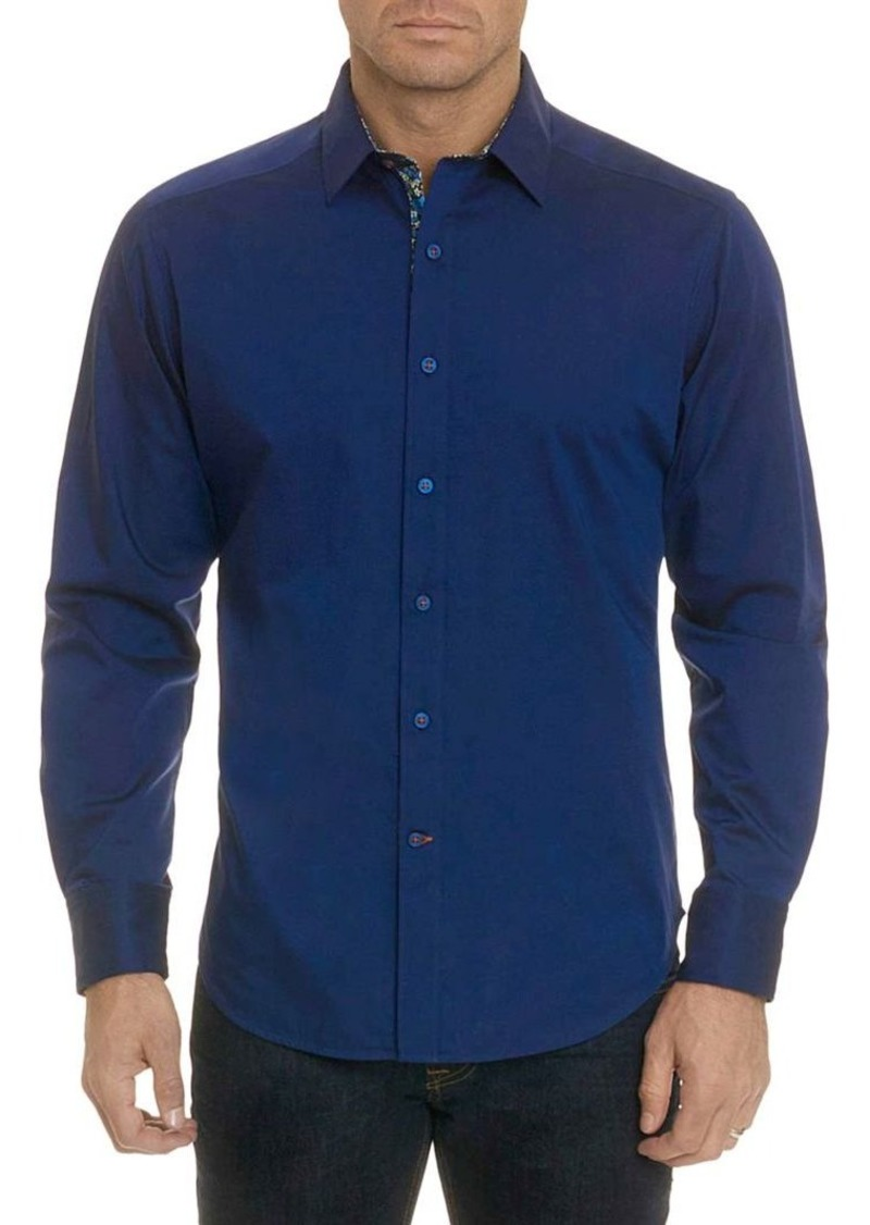 Robert Graham Bridgeman Printed Placket Sport Shirt
