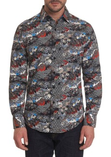 Robert Graham Brynwood Printed Button-Down Shirt
