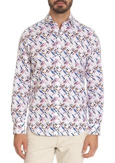 Robert Graham Carpenter Tailored-Fit Sport Shirt
