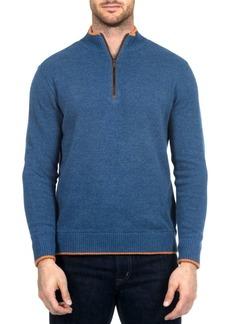 Robert Graham Cavalry Quarter-Zip Sweater