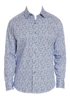 Robert Graham Celadon Printed Button-Down Shirt