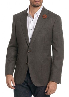 Robert Graham Champlain Classic Fit Wool Sport Coat