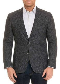 Robert Graham Chester Classic Marled-Knit Sportcoat