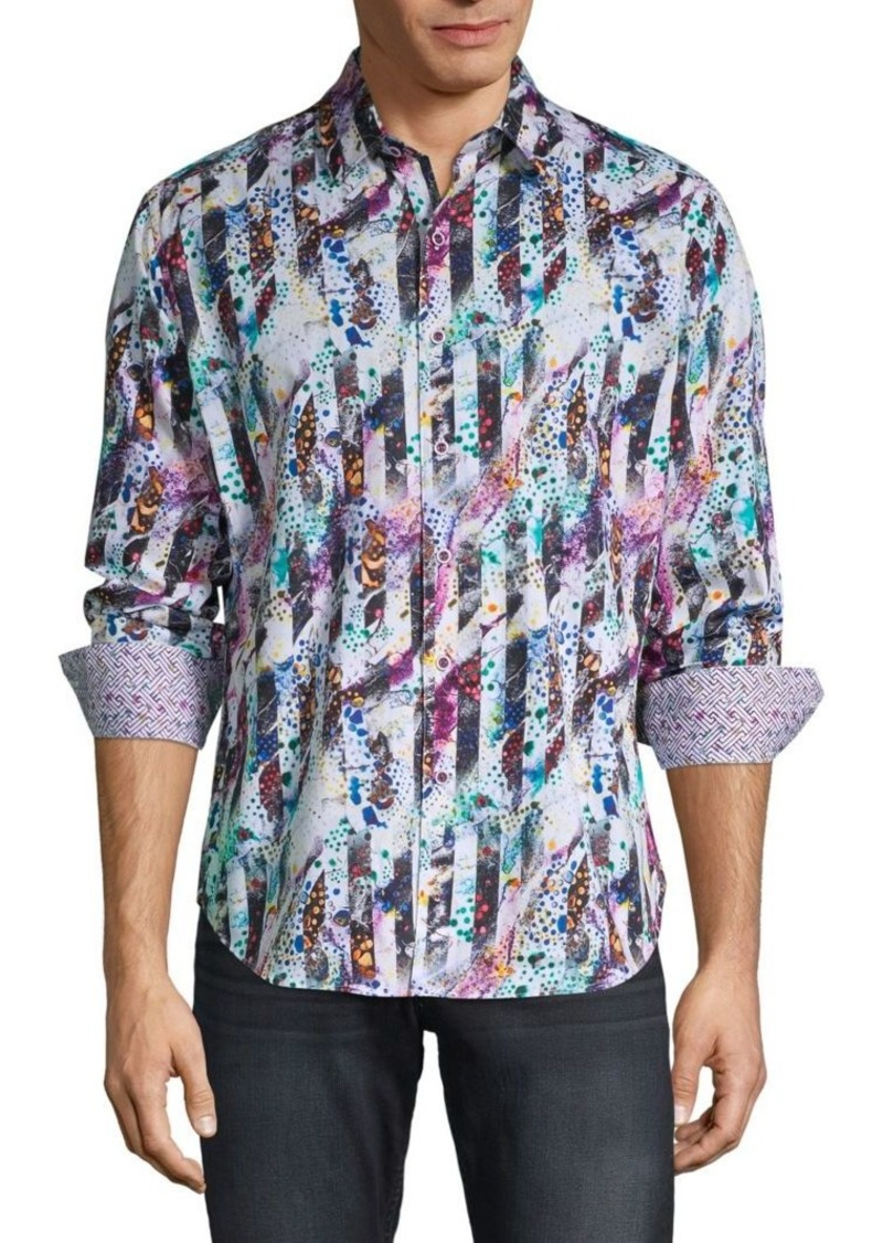 Robert Graham Classic-Fit Abstract-Print Shirt