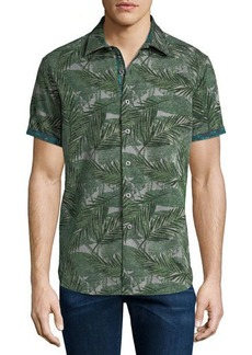 Robert Graham Classic-Fit Acme Road Short-Sleeve Sport Shirt
