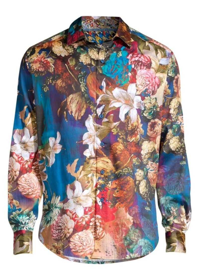 Robert Graham Classic-Fit Casablanca Print Shirt