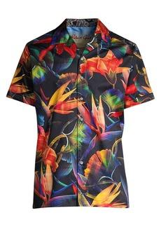 Robert Graham Classic-Fit Floral Print Shirt