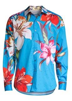 Robert Graham Classic-Fit Floral-Print Shirt